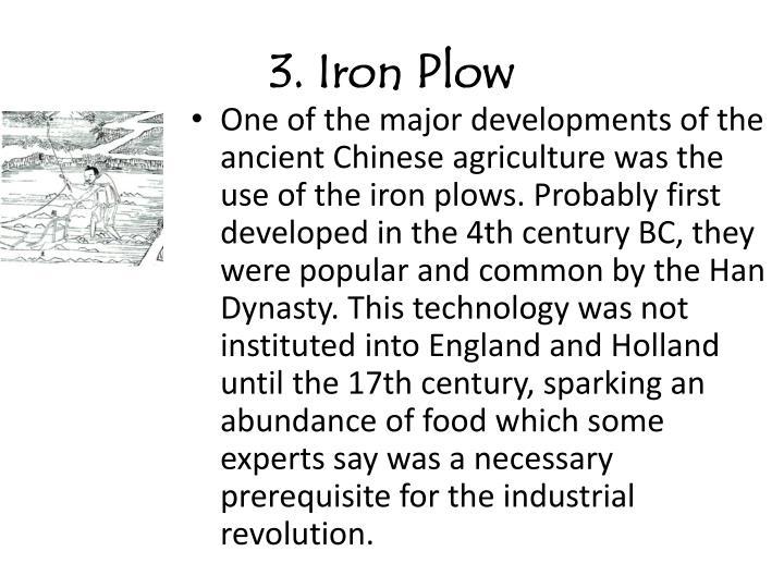 3 iron plow