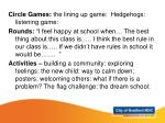 learning opportunities year 2