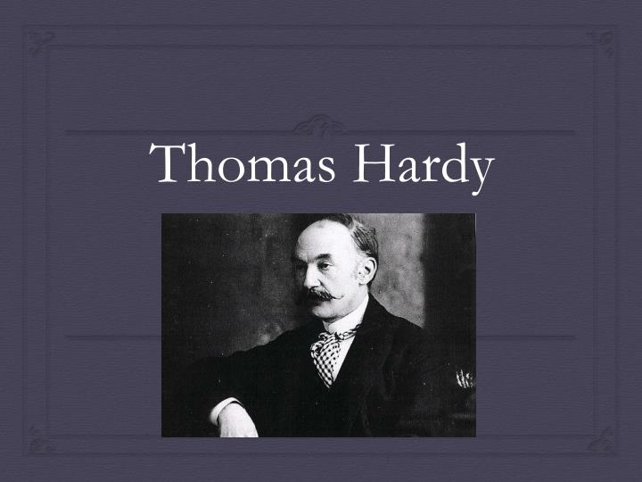 hap thomas hardly Thomas hardy, perhaps best known for his novels tess of the d'urbervilles and far from the madding crowd was an equally strong poet the convergence of the twain, perhaps his most recognized poem, receives considerable critical attention.