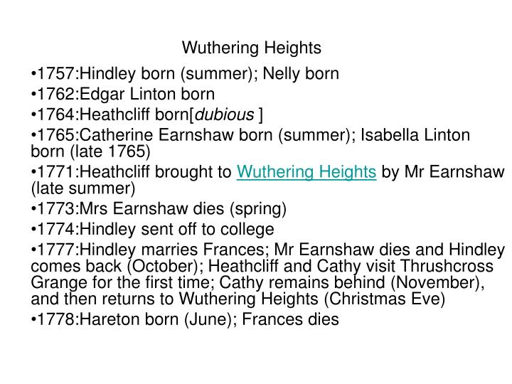 wuthering heights essays nelly Everything you ever wanted to know about ellen nelly dean in wuthering heights, written by masters of this stuff just for you.