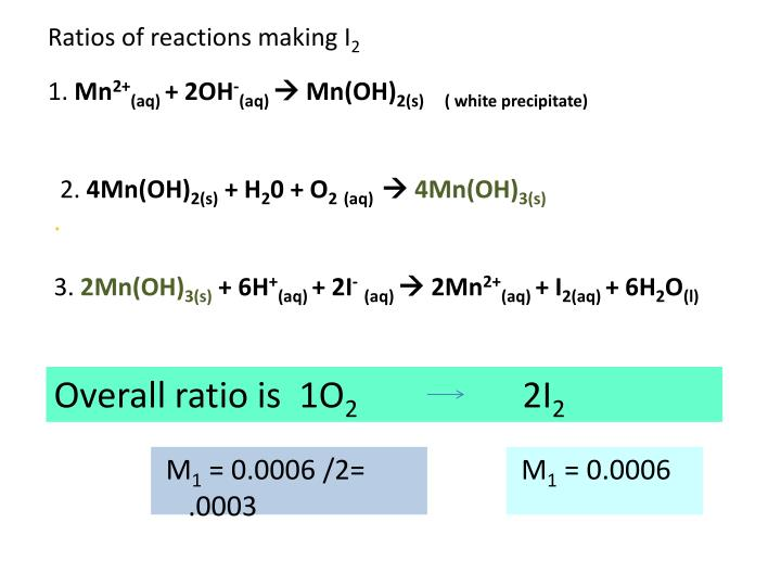 Ppt Sodium Thiosulfate Titrations Powerpoint Presentation Id2775939