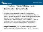 the four pillars of design cont2
