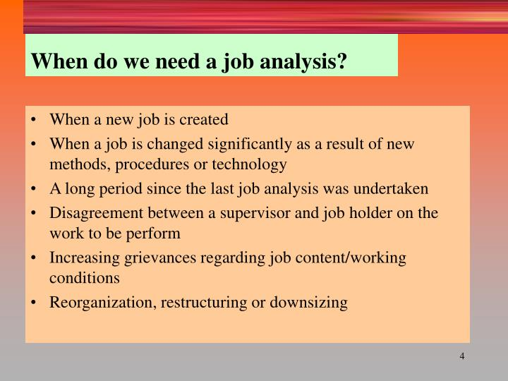 Ppt  Job Analysis Job Design And Quality Of Work Life Powerpoint
