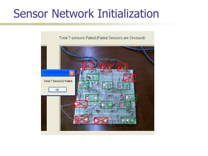 Sensor Network Initialization