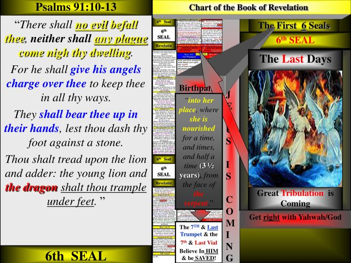 Chart of the Book of Revelation
