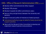 ora office of research administration ora pre award1