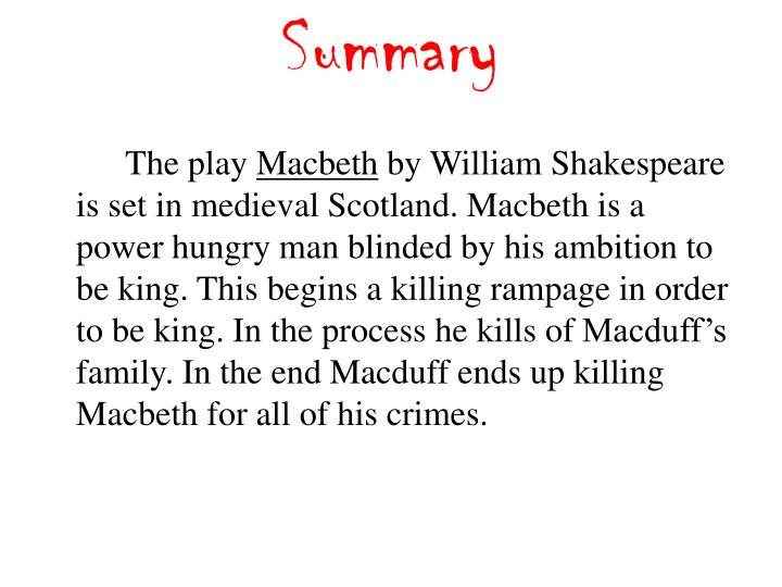 Ppt Macbeth Character Map Analysis Powerpoint Presentation Id