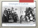 changes in culture1