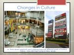 changes in culture2