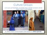 culture groups12