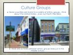 culture groups14