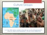 culture groups18