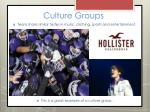 culture groups2