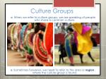 culture groups3