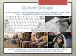 culture groups5