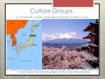culture groups7