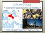 culture groups9