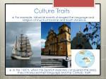 culture traits11