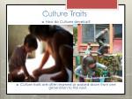culture traits6