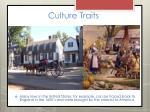 culture traits8