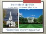 how ideas spread1