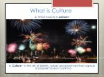 what is culture3