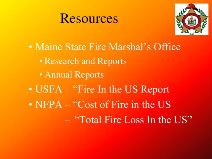 Maine State Fire Marshal's Office