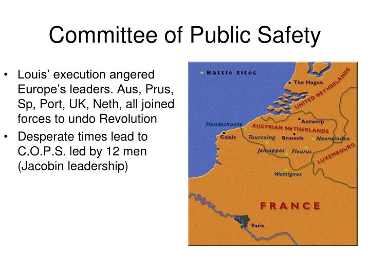 Louis' execution angered Europe's leaders. Aus,