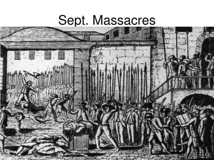 Sept. Massacres