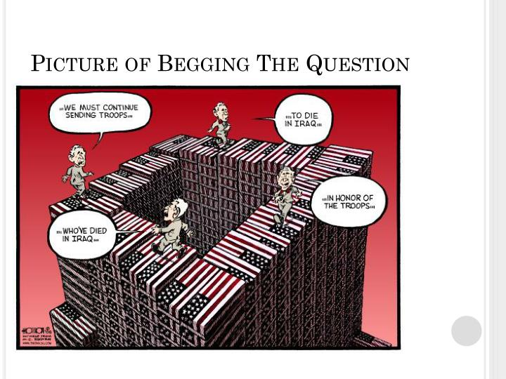 Picture of Begging The Question