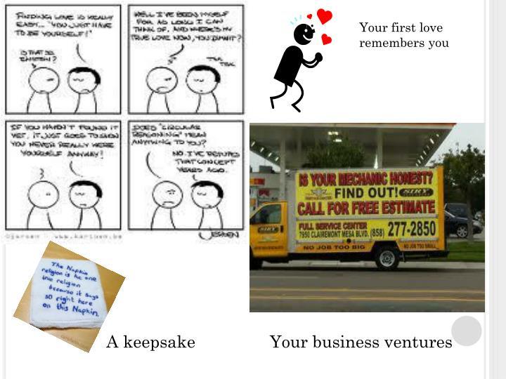 Your Business ventures