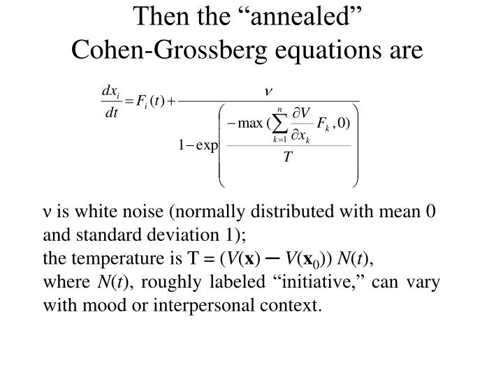"Then the ""annealed"""