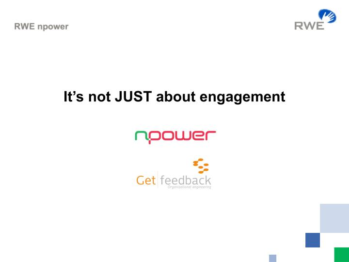 It's not JUST about engagement