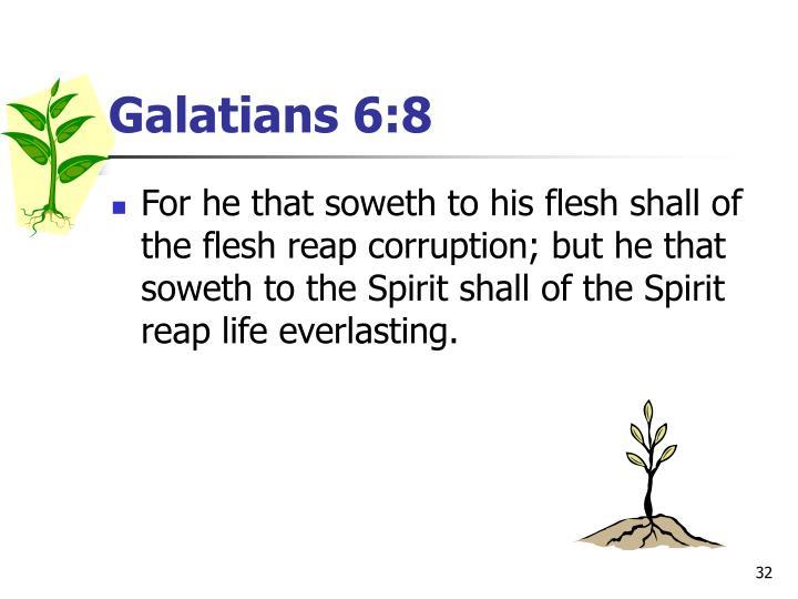 Galatians 6:8