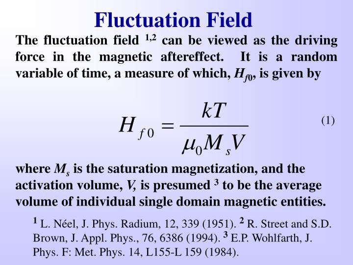 Fluctuation Field
