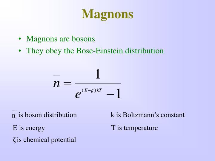 Magnons
