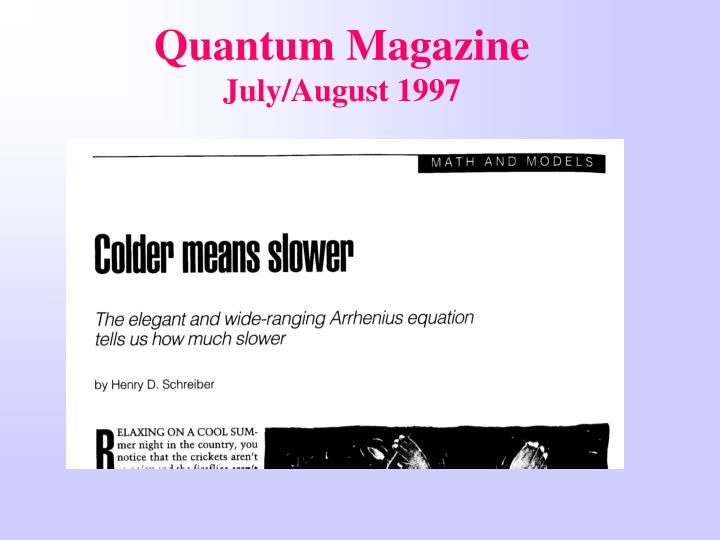 Quantum Magazine