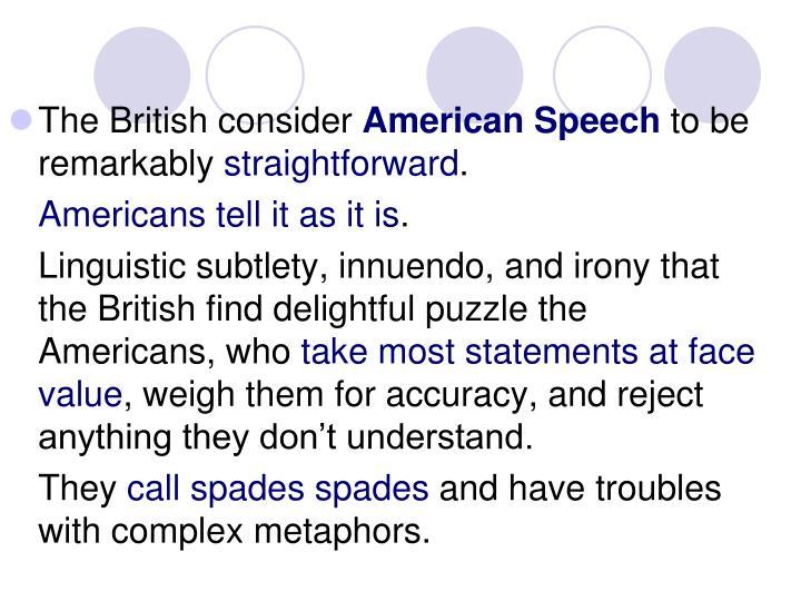 The British consider