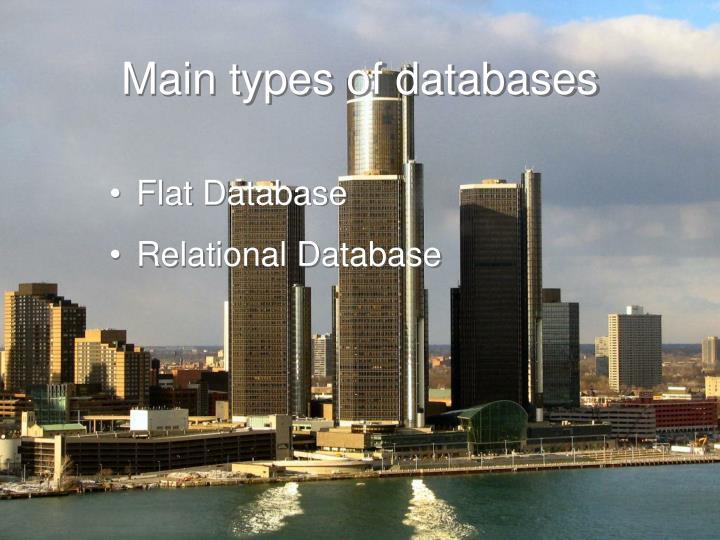 Flat Database