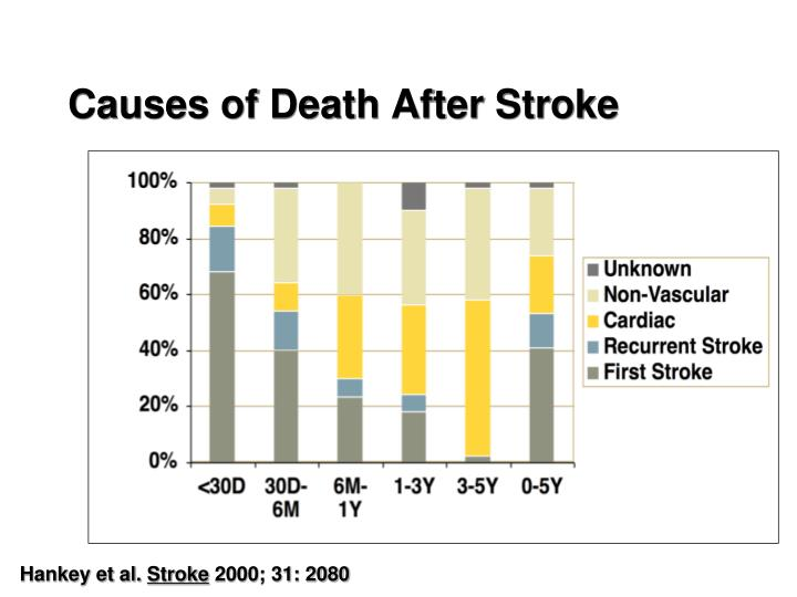 Causes of Death After Stroke