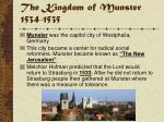 the kingdom of munster 1534 1535