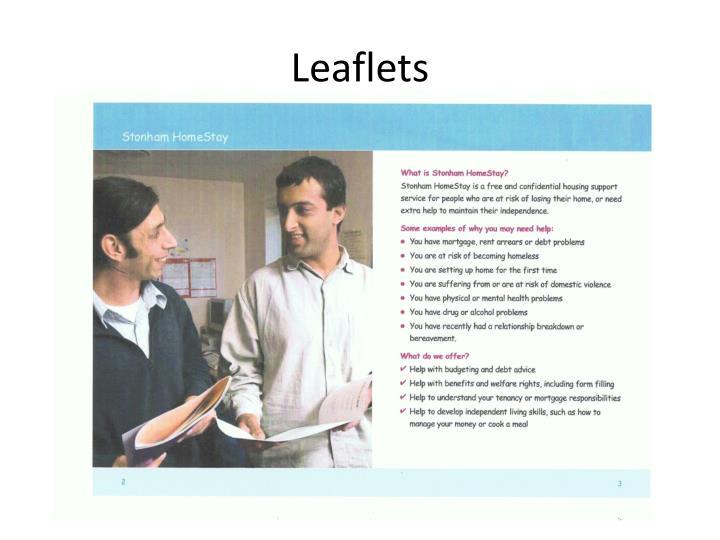 Leaflets