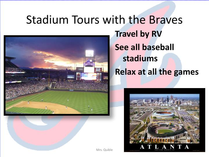 Stadium Tours with the Braves