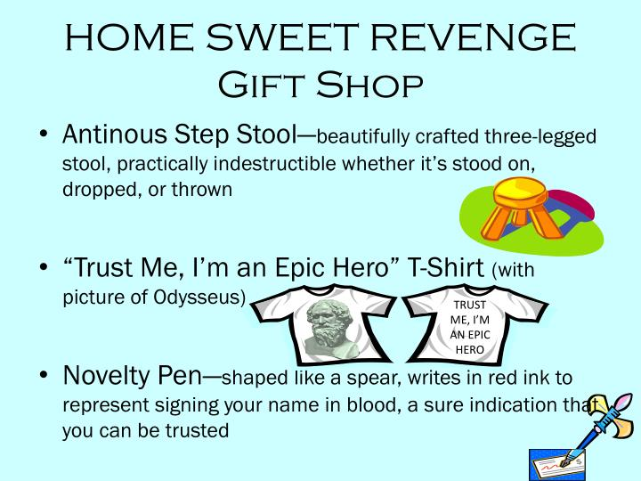 HOME SWEET REVENGE Gift Shop