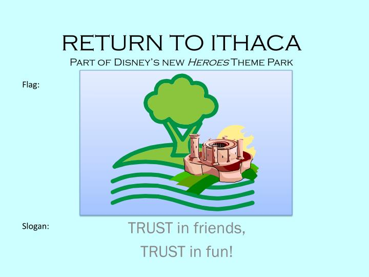 Return to ithaca part of disney s new heroes theme park