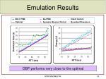 emulation results