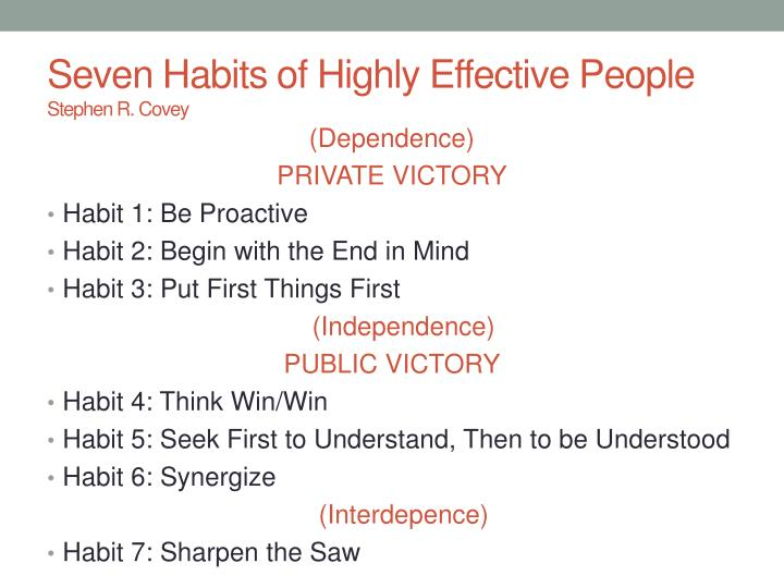 Habit 1 Be Proactive Based On The Work Of Stephen: Padm 214 PowerPoint Presentation