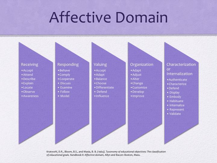 affective domain