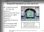 dispositif standard sur film de 8 nm