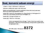 soal konversi satuan energi4